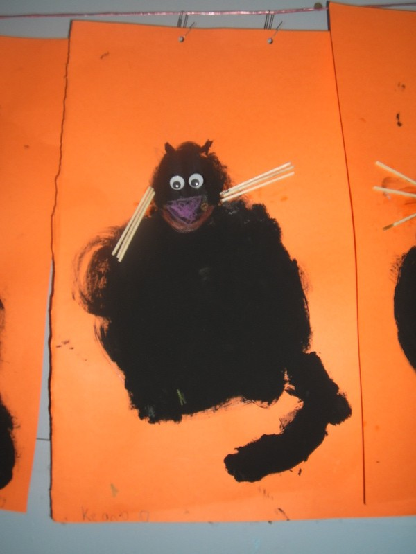 Second Class Halloween Cats