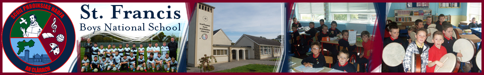 St. Francis Boys National School Clara Co.Offaly