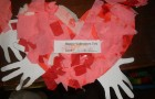 Junior Infants Valentines Day Art