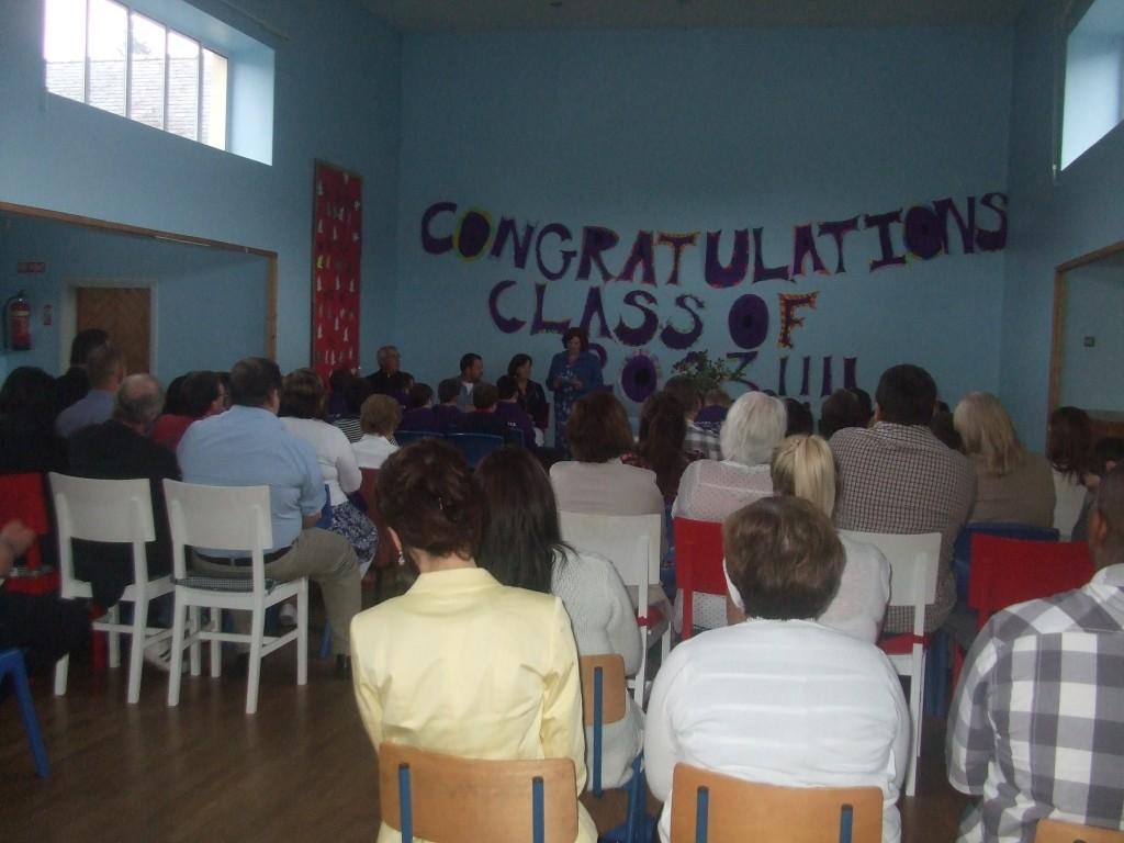 Sixth Class Graduation 2013