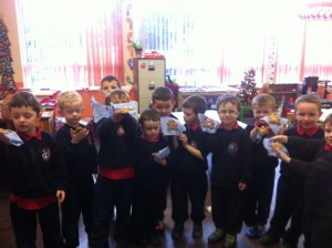 Junior Infants Gingerbread Men