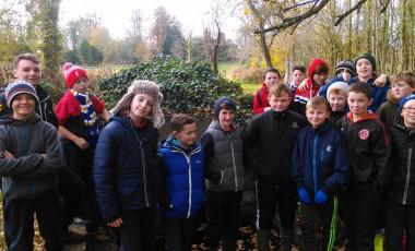 Sixth Class visit Durrow Abbey