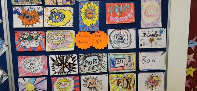 Andy Warhol Pop Art from Second Class