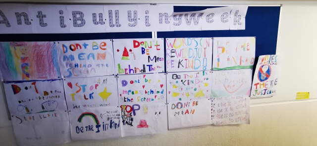 Third Class Anti Bullying Project