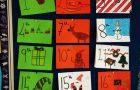 Fifth Class Art Winter Wonderland and  Colour wheel