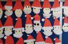 Third Class Christmas Art – Santa Art