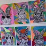5th Class Easter Art