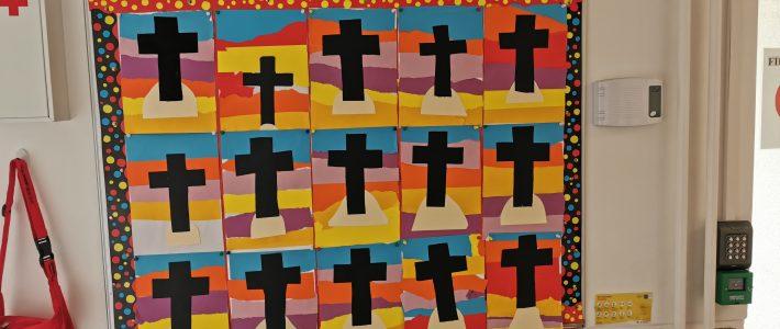 Sixth Class Easter Art