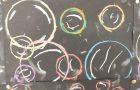 6th Class Bubble Art