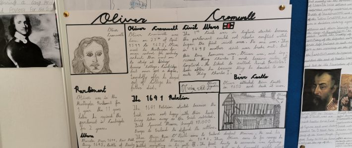 5th Class World War One Projects