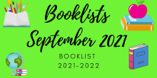 Booklist September 2021