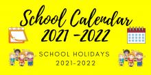 School Calendar 2021-2022