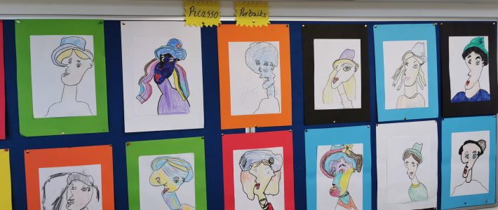 Second Class Picasso Art